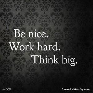Six SImple Words.