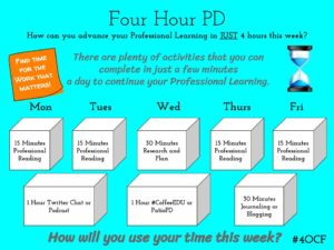 Four Hour PD – 4 O'Clock Faculty