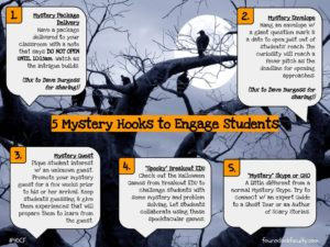 5 Mystery Hooks to Engage Students – 4 O'Clock Faculty